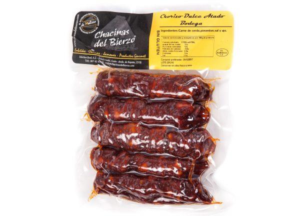 Chorizo atado dulce Chacinas del Bierzo