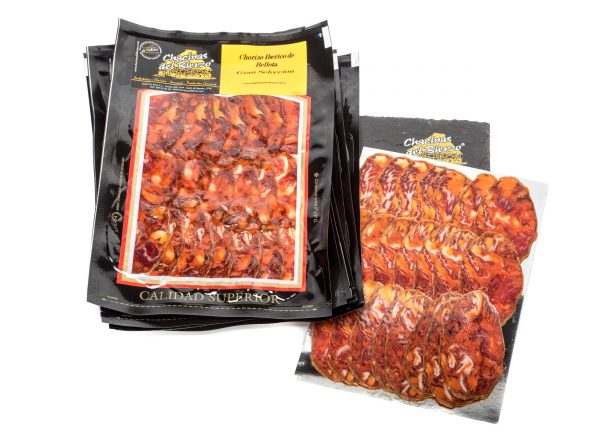 Chorizo Ibérico Bellota Gran Selección Chacinas del Bierzo loncheado